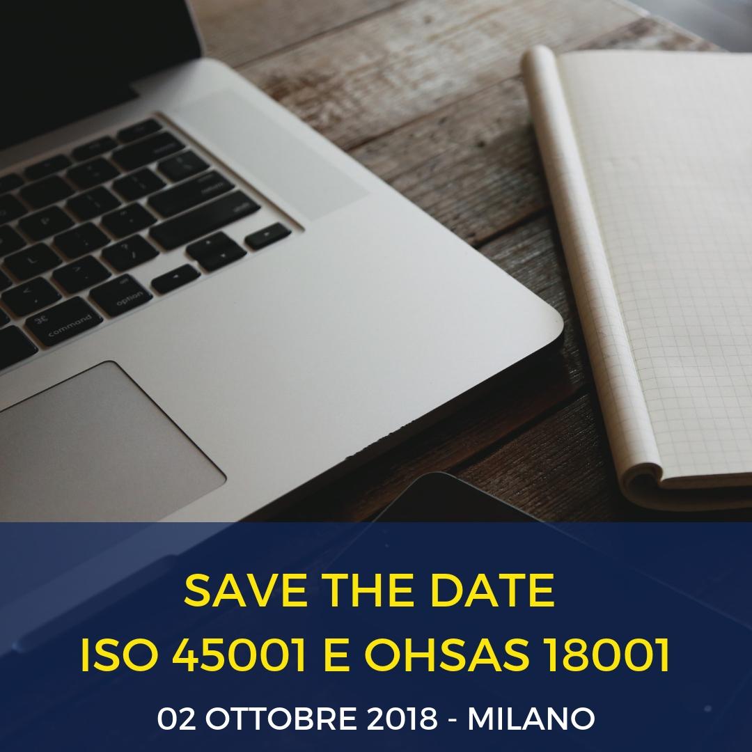 rina e res Seminario OHSAS 18001 – ISO 45001